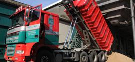 Gelling Containers verzorgt het transport van uw containers met het beste materieel.Professioneel en voordelig! Of het nu afval, zand, grind of graan is